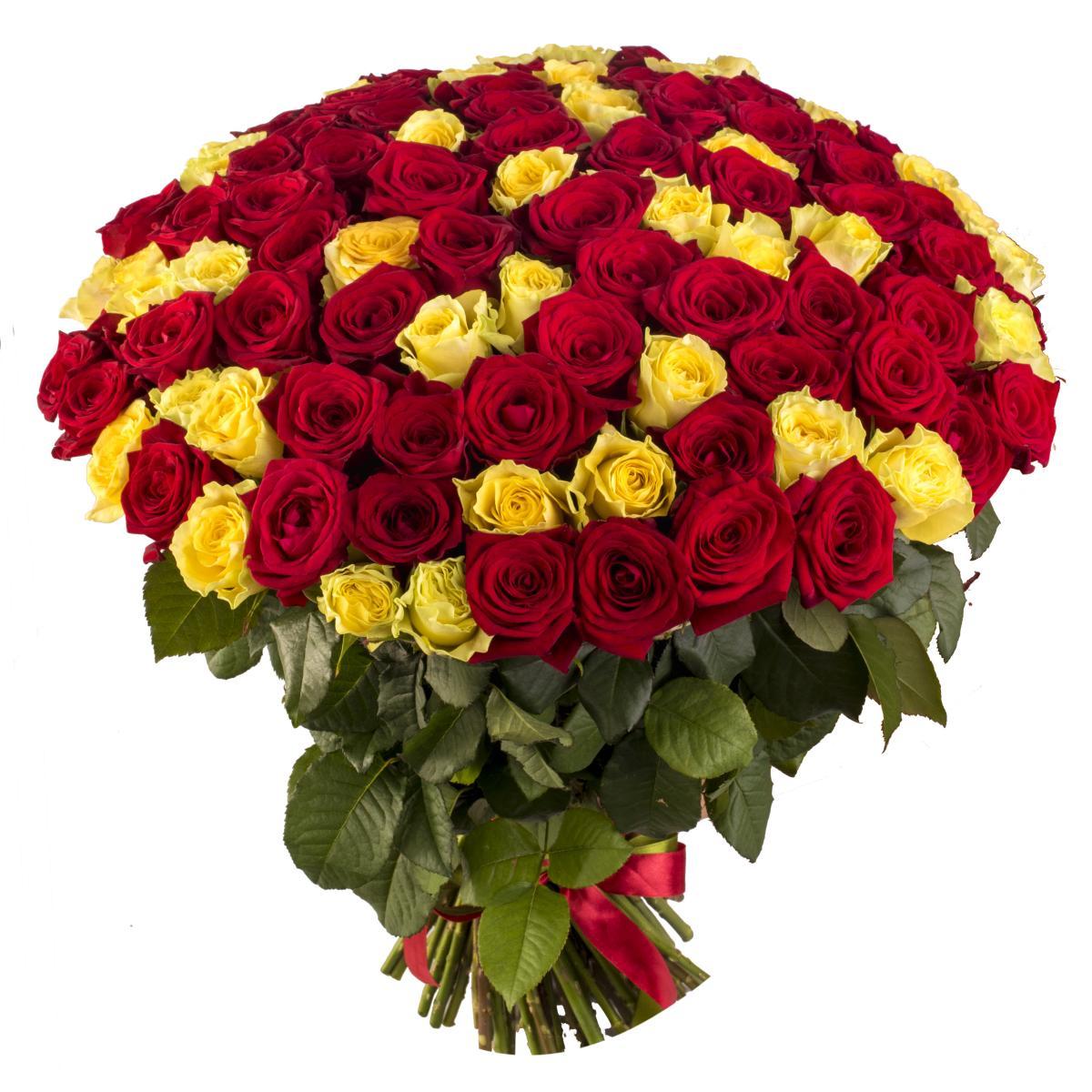 Букет из 101 розы открытки